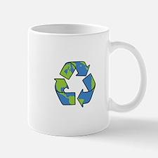 Recycle Symbol Mugs