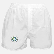 Live.Love.Learn.Recycle.Reuse.Reduce Boxer Shorts