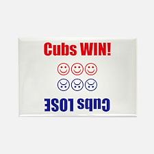 Cubs Win! Cubs Lose Flip Magnet