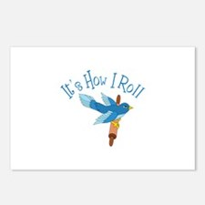 Its How I Roll Postcards (Package of 8)