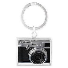 Vintage Camera Landscape Keychain