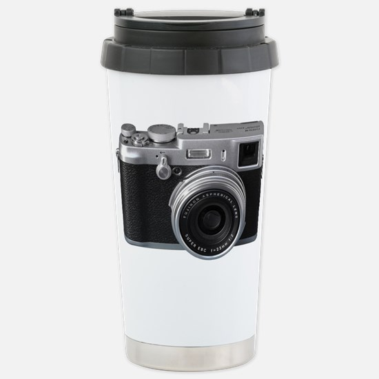 Vintage Camera Stainless Steel Travel Mug