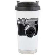 Vintage Camera Travel Coffee Mug