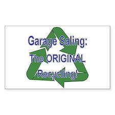Tho ORIGINAL Recycling! Rectangle Decal