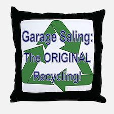 Tho ORIGINAL Recycling! Throw Pillow