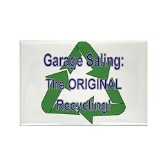 Tho ORIGINAL Recycling! Rectangle Magnet