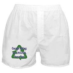 Tho ORIGINAL Recycling! Boxer Shorts