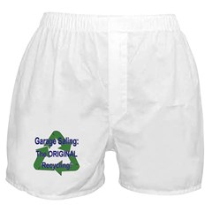 Tho ORIGINAL Recycling! Boxer Shorts