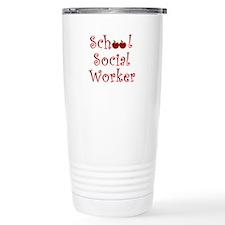 Cute School social worker Travel Mug