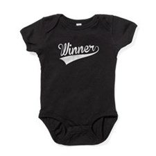 Winner, Retro, Baby Bodysuit