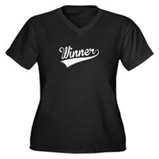 Winner, Retro, Plus Size T-Shirt