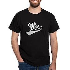 Wix, Retro, T-Shirt