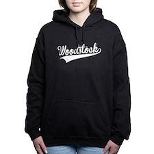 Woodstock, Retro, Women's Hooded Sweatshirt