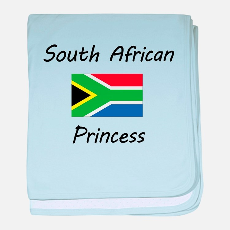 South African Princess baby blanket