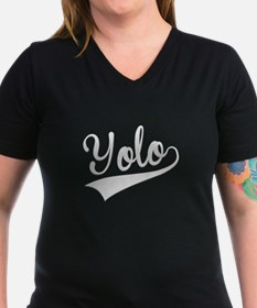 Yolo, Retro, T-Shirt