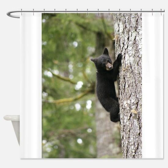 Bear Cub Shower Curtain