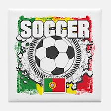 Soccer Portugal Tile Coaster