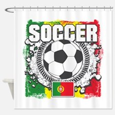 Soccer Portugal Shower Curtain