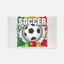 Soccer Portugal Rectangle Magnet