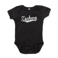 Zachary, Retro, Baby Bodysuit