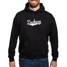Zackery, Retro, Hoodie