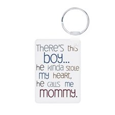 Baby Boy Quote for Mom Keychains