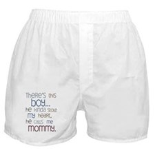 Baby Boy Quote for Mom Boxer Shorts