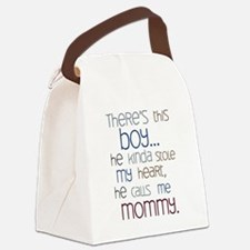 Baby Boy Quote for Mom Canvas Lunch Bag