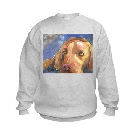Vizsla #2 Kids Sweatshirt