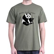 Never Trust A Panda T-Shirt