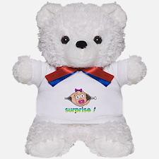 surprise Baby Boo Girl Teddy Bear