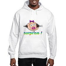 surprise Baby Boo Girl Hoodie