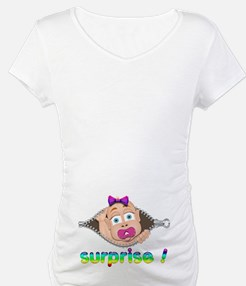 surprise Baby Boo Girl Shirt