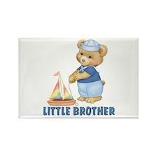 Sailorbear Little Brother Rectangle Magnet