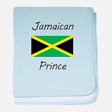 Jamaican Prince baby blanket