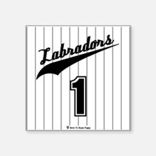 Labrador Jersey Sticker