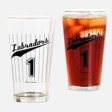 Labrador Jersey Drinking Glass
