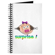 surprise Baby Boo Girl Journal