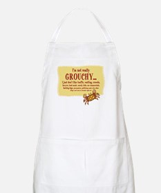 Grouchy Crab BBQ Apron