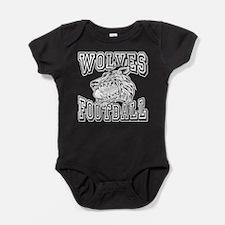 WOLVES FOOTBALL Baby Bodysuit