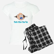 Peek A Boo I See You Baby Boo Boy Pajamas