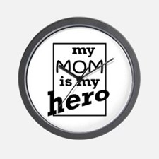 Mom Hero Wall Clock