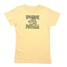 WOLFPACK FOOTBALL Girl's Tee