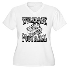 WOLFPACK FOOTBALL Plus Size T-Shirt