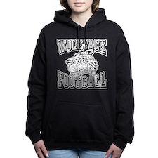 WOLFPACK FOOTBALL Women's Hooded Sweatshirt