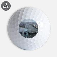 On Top Of London Eye Golf Ball