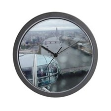 On Top Of London Eye Wall Clock