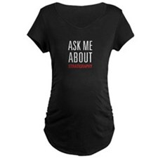 Ask Me About Stratigraphy T-Shirt