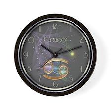 Cancer Zodiac Sign Wall Clock