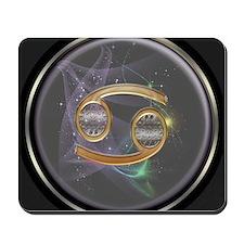 Cancer Zodiac Sign Mousepad
